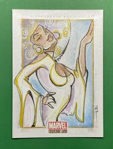 2011 Marvel Bronze Age SARA RICHARD Misty Knight Sketch 1/1