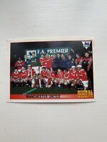 Manchester United team sticker Merlin Premier League 96 269 1996 football EX