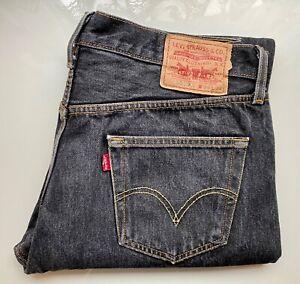 *Vintage* LEVI's Original Jeans Hose Denim 501 XX, W36 L32, schwarz, grau, rare!