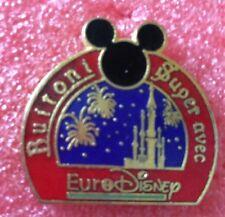 Pins EURO DISNEY Opening MICKEY MOUSE Sponsor BUITONI