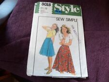 Style 1980s Collectable Sewing Patterns