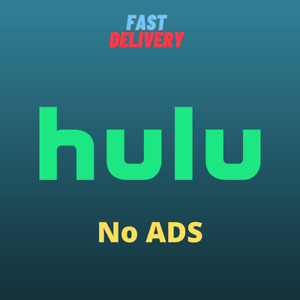 Hulu No Ads ( No Commercials ) | For 1 Year