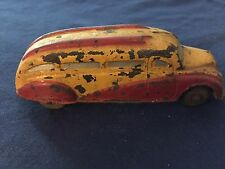 Vintage The Sun Rubber Co. Bus Car Two Tone Red & Yellow
