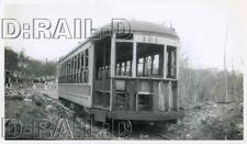 9D280 RP 1951 TARS THIRD AVENUE RAILWAY SYSTEM CAR #121 MT VERNON BARN SCRAP ?