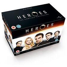 Heroes Complete Series Seasons 1, 2, 3 & 4 DVD Box Set