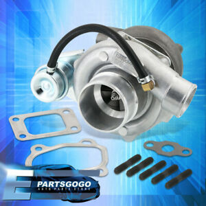 GT28 Water Oil Cooled Disco Potato Turbo Charger T25 Inlet Flange .60 Compressor