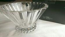 "Rosenthal crystal bowl center piece 6"" Tall x 10"" diameter new in original box"