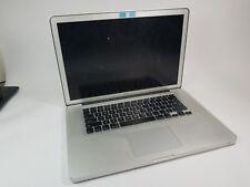 Macbook Pro Early 2011 Core i7 4gb Ram / No HDD