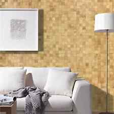 3D Echtholz Wandverkleidung | Eiche Natur | Netz wodewa Holzwand Paneele Mosaik