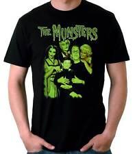 Camiseta Hombre The Munsters-La Familia Munsters tv Monsters t-shirt manga corta