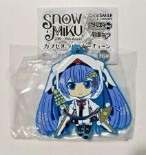 Hatsune Miku Snow Miku Nendoroid 10th Anniversary Crane Priestess Rubber Strap