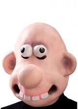 Funny Cartoon Man Mask Character Wallace Fancy Dress Latex Costume Full Head