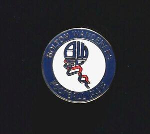 BOLTON WANDERERS FOOTBALL CLUB PIN BADGE
