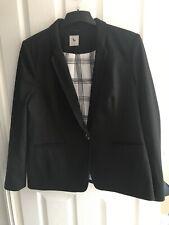 TU Black Blazer Suit Jacket Size 18