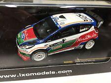FORD FIESTA WRC #3 SIMONCELLI UK TEST KIRKBRIDE- 1/43 IXO VOITURE DIECAST-RAM463