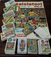 Mancoliste album figurine calciatori 1976/77 da recupero a soli €0,35
