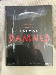 10 GEM MINT BATMAN DAMNED # 1 HC GERMAN EURO VARIANT WP 2019 Black Label