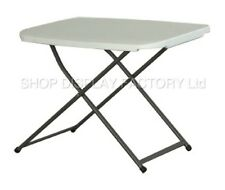 New 2ft COMEX Height Adjustable Folding Personal Table Catering Garden Picnic UK