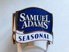 BEER TAP HANDLE SAMUEL ADAMS SEASONAL WOOD/METAL