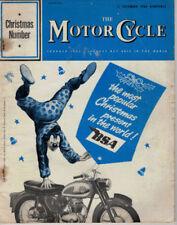 December Motor Cycle Weekly Magazines