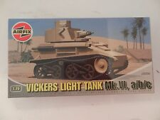 Airfix Vickers Light Tank Mk VI A/B/C 1/72 #A02330 NEW ISSUE