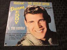 "1960 Duane Eddy Shazam! 45 7"" EX/VG Jamie – 1151 Picture Sleeve"