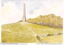 Postcard: Les Bott - Hagley Obelisk, Worcestershire (Pilkington Family Trust)