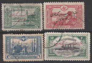 301) TURKEY - TURKIJE - OTTOMAN EMPIRE 1920  USED SELECTION 1920  PERFECT