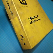 Caterpillar 510P Forklift Service Manual shop TOWMOTOR Maintenance repair owner