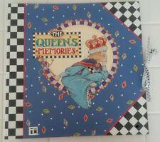 Mary Engelbreit Large The Queen's Memories Hardcover Scrapbook Album Pages Craft