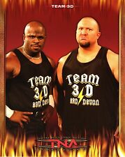 "TEAM 3D TNA IMPACT WRESTLING PROMO PHOTO BULLY RAY BROTHER D-VON 8x10"" wwe"