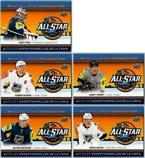 2018-19 UD TIM HORTONS NHL ALL STAR STANDOUTS COMPLETE 5 CARD INSERT SET LOT SP