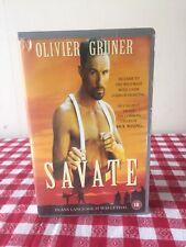 Savate 1994 - Ex Rental - Pal VHS - Very Rare - Kickboxing / Cowboy