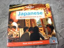 Lonely Planet Japanese Phrasebook by Lonely Planet (Book & CD)CG15