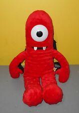 "Yo Gabba Gabba Plush Backpack Muno Stuffed Animal Doll Kids Toy Bag 18"" Zipper"