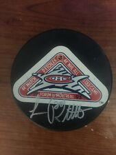 Luc Robitaille LA Kings All Star In Montreal Signed Autographed Puck
