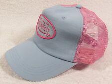 NEW GENUINE Von Dutch Mesh Trucker Biker Snapback Hat Cap Adjustable  BLUE PINK
