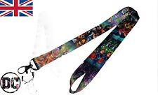 DC comics villians lanyard keycard id badge holder cartoon lanyard