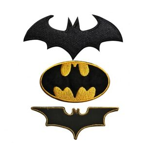 Batman Super Hero Movie Embroidered Iron On /Sew On Patch Badge For Clothes