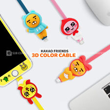 Genuine Kakao Friends 3D Color Cable 8 Pin/Micro 5 Pin/C Type Apple/Galaxy/Sony