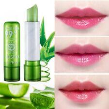 Aloe vera Moisturizing LipStick Changes Color Long Lasting Traveling