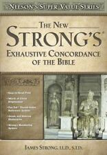New Strong's Exhaustive Concordance by Strong, James