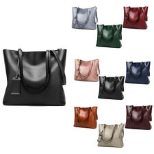 Womens Handbags Faux Leather Tote Bag Satchels Shoulder Bags Large Day Purse New