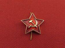 Soviet Russian Army USSR Red Star Badge Cockade, Cap Hat Pilotka