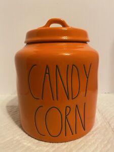 Rae dunn chubby candy corn canister 2021 Halloween Cheapest On eBay HTF!!