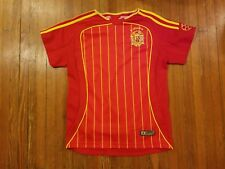 Spain Espana Red Goal Football Soccer Jersey Boy's Size 4-6