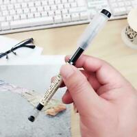 12 Pcs/lot Brief Style Ballpoint Gel Ink Pen 0.5mm Black School Blue Red F F8F6