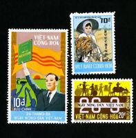 Vietnam Stamps # 475-7 XF OG NH Scott Value $96.00