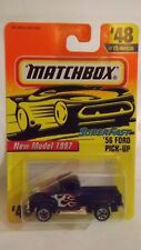 1997 Matchbox '56 Ford Pick Up Truck # 48 of 75 Vehicles New Model 1997
