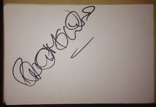 ROBERT MEADMORE SIGNED 6X4 WHITE CARD FILM & TV AUTOGRAPH SINGER & ACTOR